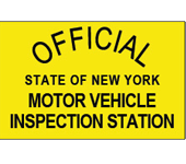 Official New York Motor Vehicle Inspection Station